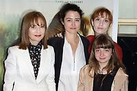 ISABELLE HUPPERT, LAURA SCHROEDER, LOLITA CHAMMAH, THEMIS PAUWELS - Avant premiere du film ' BARRAGE ' - 29 juin 2017 - Paris - France