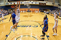 SAN ANTONIO, TX - MARCH 22, 2018: The University of Texas at San Antonio Roadrunners falls to the Sam Houston State Bearkats 76-69 in the quarterfinals of the CIT CollegeInsider.com Postseason Tournament at the UTSA Convocation Center. (Photo by Jeff Huehn)