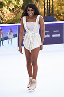 """Perri Shakes-Drayton<br /> at the """"Dancing on Ice"""" launch photocall, natural History Museum, London<br /> <br /> <br /> ©Ash Knotek  D3365  19/12/2017"""