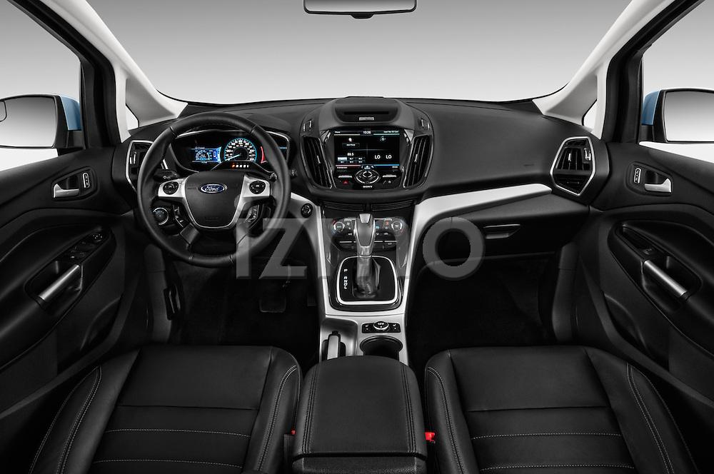 2013 Ford C Max Hybrid SEL <br /> Mini MPV Straight dashboard view