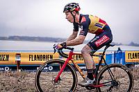 Belgian National Champion Laurens Sweeck (BEL/Pauwels Sauzen-Bingoal)<br /> <br /> 2020 Scheldecross Antwerp (BEL)<br /> <br /> ©kramon