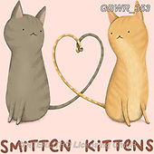 Simon, REALISTIC ANIMALS, REALISTISCHE TIERE, ANIMALES REALISTICOS, innovativ, paintings+++++SophieCorrigan_SmittenKittens,GBWR353,#a#, EVERYDAY
