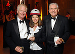 """From left: Rusty Walter and Paula Walter with Carl Davis at  the """"Wrecking Ball"""" at the Houston Museum of Natural Science Saturday  March 07, 2009. (Dave Rossman/For the Chronicle)"""