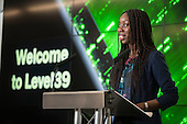 Adizah Tejani, Level39 Deputy Manager.  Code Club event, Level39, Canary Wharf.