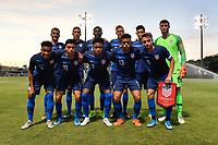 Miami, FL - Tuesday, October 15, 2019: Starting XI during a friendly match between the USMNT U-23 and El Salvador at FIU Soccer Stadium.