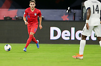 WASHINGTON, D.C. - OCTOBER 11: Tyler Boyd #21 of the United States dribbles the ball during their Nations League game versus Cuba at Audi Field, on October 11, 2019 in Washington D.C.