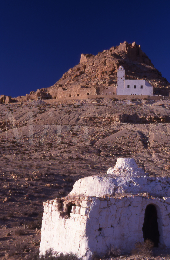 Tunisia. Douiret Village north