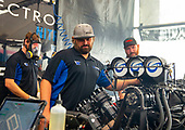 Shawn Langdon, Global Electronic Technology, funny car, Camry, crew, pits