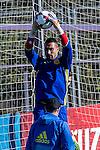 Spainsh Sergio Asenjo during the training of the spanish national football team in the city of football of Las Rozas in Madrid, Spain. November 10, 2016. (ALTERPHOTOS/Rodrigo Jimenez)