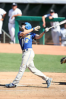 Danny Stienstra #2 of the San Jose State Spartans plays against the Nevada Wolf Pack in the Western Athletic Conference post-season tournament at Hohokam Stadium on May 25, 2011 in Mesa, Arizona. .Photo by:  Bill Mitchell/Four Seam Images.