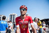 Castellon, SPAIN - SEPTEMBER 7: Cofidis biker during LA Vuelta 2016 on September 7, 2016 in Castellon, Spain