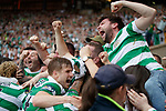 Tom Rogic mobbed by fans after scoring the winner