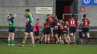 Friday 6th March 2020 | Armagh RFC vs Ballynahinch RFC<br /> <br /> Armagh celebrate their winning score during the Bank Of Ireland Ulster Senior Cup Final between the City of Armagh RFC and Ballynahinch RFC at Kingspan Stadium, Ravenhill Park, Belfast, Northern Ireland. Photo by John Dickson / DICKSONDIGITAL