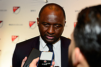 Philadelphia, PA - Friday January 19, 2018: Patrick Vieira during the 2018 MLS SuperDraft at the Pennsylvania Convention Center.
