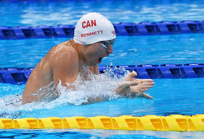 Nicholas Bennett, Tokyo 2020 - Para Swimming // Paranatation.<br /> Nicholas Bennett competes in the 200m Individual Medley - SM14 // Nicholas Bennett participe au 200 m QNI hommes - SB14. 08/30/2021.