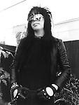 Motley Crue Mick Mars 1981<br /> © Chris Walter