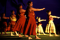 Kahiko Performance at Kuhio Beach on Prince Jonah Kuhio Celebration Day, Halau under Kumu Kapiolani Hao