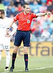 Spanish referee Gonzalez Gonzalez during La Liga match. April 16,2016. (ALTERPHOTOS/Acero)