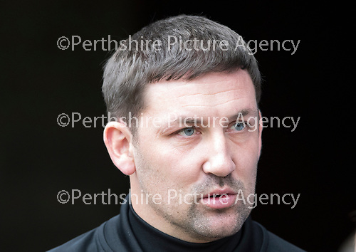 St Johnstone v Hamilton Accies…23.09.17…  McDiarmid Park… SPFL<br />Accies manager Martin Canning<br />Picture by Graeme Hart. <br />Copyright Perthshire Picture Agency<br />Tel: 01738 623350  Mobile: 07990 594431
