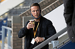 St Johnstone v Hibs……23.08.20   McDiarmid Park  SPFL<br />Former saintee Chris Millar who was doing commentary on saintstv<br />Picture by Graeme Hart.<br />Copyright Perthshire Picture Agency<br />Tel: 01738 623350  Mobile: 07990 594431