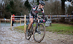 Lars Van Der Haar Team Giant - Alpecin during the National Championships cyclocross for espoirs - Elite in Veldhoven, Netherlands. 11th January 2015.<br /> Photo Davy Rietbergen/Cor Vos/www.newsfile.ie