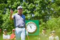 5th June 2021; Dublin, Ohio, USA; Bo Hoag (USA) prepares to tee off on 1 during the Memorial Tournament Rd3 at Muirfield Village Golf Club on June 5, 2021 in Dublin, Ohio.