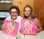 Jeff Richmond and Nell Benjamin attend the 'Mean Girls' Original Broadway Cast Linyl Release at the Herald Square Urban Outfitters' on August 28, 2018 in New York City.