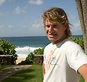 Australian Mark Occhilupo on the Northshore of Hawaii.