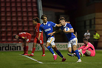 Ben Wilson of Brighton & Hove Albion (U23s) during the EFL Trophy behind closed doors match between Leyton Orient and Brighton & Hove Albion Under 21s at the Matchroom Stadium, London, England played without supporters able to attend due to ongoing covid-19 government guidelines on 8 September 2020. Photo by Vince  Mignott.