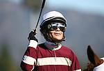 January 28, 2011. Martin Pedroza after winning the Santa Ysabel Stakes(GIII) at Santa Anita Park in Arcadia, CA.