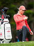 TAOYUAN, TAIWAN - OCTOBER 28:  Suzann Pettersen of Norway stretches the 2nd hole during the day four of the Sunrise LPGA Taiwan Championship at the Sunrise Golf Course on October 28, 2012 in Taoyuan, Taiwan.  Photo by Victor Fraile / The Power of Sport Images