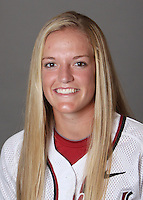 STANFORD, CA - OCTOBER 29:  Jenna Rich of the Stanford Cardinal softball team poses for a headshot on October 29, 2009 in Stanford, California.