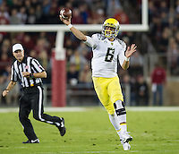 Stanford vs Oregon, Thursday, November 7, 2013
