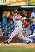 Greenville Drive designated hitter David Chester #44 during a game against the Lexington Legends on April 18, 2013 at Whitaker Bank Ballpark in Lexington, Kentucky.  Lexington defeated Greenville 12-3.  (Mike Janes/Four Seam Images)