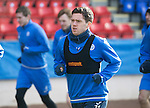 St Johnstone Training….17.02.17<br />Danny Swanson pictured during training this morning at McDiarmid Park ahead of tomorrow's trip to Dingwall<br />Picture by Graeme Hart.<br />Copyright Perthshire Picture Agency<br />Tel: 01738 623350  Mobile: 07990 594431