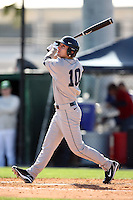 February 20, 2009:  Outfielder Peter Fatse (10) of the University of Connecticut during the Big East-Big Ten Challenge at Jack Russell Stadium in Clearwater, FL.  Photo by:  Mike Janes/Four Seam Images
