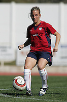 MAR 11, 2006: Quarteira, Portugal:  USWNT forward Amy Rodriguez