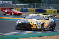 #92 FRANZ WUNDERLICH - ASTON MARTIN / V8 VANTAGE GT2 / 2010 GT2B