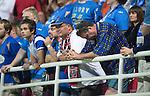 Spartak Trnava v St Johnstone...07.08.14  Europa League Qualifier 3rd Round<br /> Gutted saints fans<br /> Picture by Graeme Hart.<br /> Copyright Perthshire Picture Agency<br /> Tel: 01738 623350  Mobile: 07990 594431