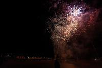 2019 11 05 Firework display in Swansea Bay, Wales, UK.