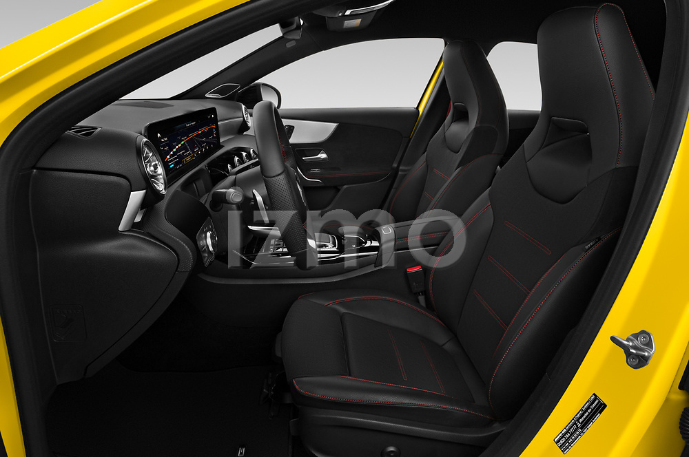 Front seat view of 2019 Mercedes Benz A-Class - 5 Door Hatchback Front Seat  car photos