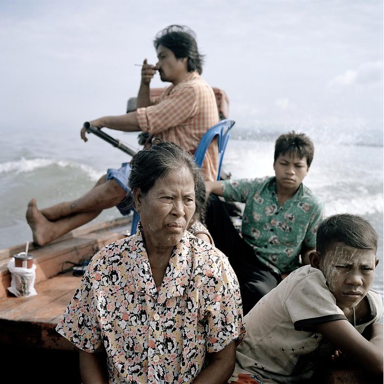 Moken fishing community, <br /> Anadaman Sea, Thailand.