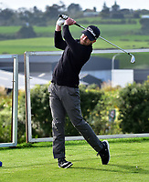 Lachie McDonald during the Jennian Homes Charles Tour Taranaki Open, New Plymouth Golf Course, New Plymouth, Thursday 15 October 2020. Photo: John Velvin/www.bwmedia.co.nz