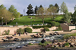 Family walking in Confluence Park, Denver, Colorado, USA John offers private photo tours of Denver, Boulder and Rocky Mountain National Park. .  John offers private photo tours in Denver, Boulder and throughout Colorado. Year-round Colorado photo tours.