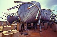 Industrial damage in Kilauea ten days after Hurricane Iniki
