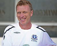 Everton FC Manager David Moyes before the game against the Chicago Fire.  The Chicago Fire defeated English Premier League Team Everton FC 2-0 in a friendly match at Toyota Park in Bridgeview, IL, on July 30, 2008.
