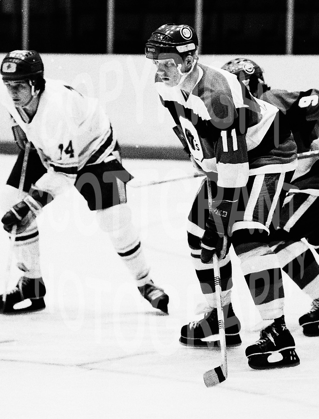 Dan Fascinato Ottawa 67's 1979. Photo Scott Grant
