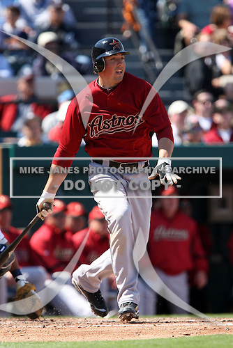 March 5, 2010:  Outfielder Brian Bousevic of the Houston Astros during a Spring Training game at Joker Marchant Stadium in Lakeland, FL.  Photo By Mike Janes/Four Seam Images