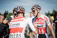 race winner & new National ROAD Champion Tim Merlier (BEL/Corendon - Circus) after finishing  > ...another cyclocross rider proving his strength as a roadie<br /> <br /> Belgian National Road Championships 2019 - Gent<br /> <br /> ©kramon