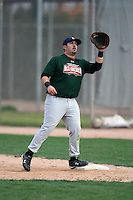 January 17, 2010:  Daniel (Dan) Padilla (San Manuel, AZ) of the Baseball Factory Central Team during the 2010 Under Armour Pre-Season All-America Tournament at Kino Sports Complex in Tucson, AZ.  Photo By Mike Janes/Four Seam Images